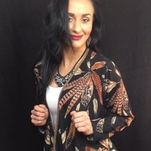 Sweaters - Plus size feather cardigan